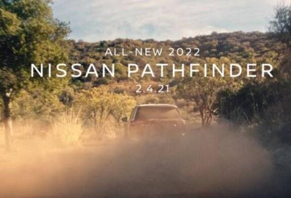 Новый Nissan Pathfinder показали на видео