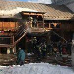 Пожар в Измайловском кремле в Москве ликвидировали