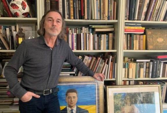Никас Сафронов показал свой дом: как в замке