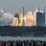 Китай запустил основной модуль будущей орбитальной станции