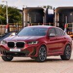 Рестайлинг BMW X4 (G02): новые изображения
