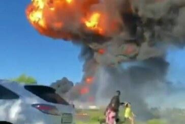 Жители рассказали подробности взрыва газовой АЗС: людей сносило взрывной волной