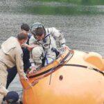Космонавтов удачно «спасли» из подмосковного озера
