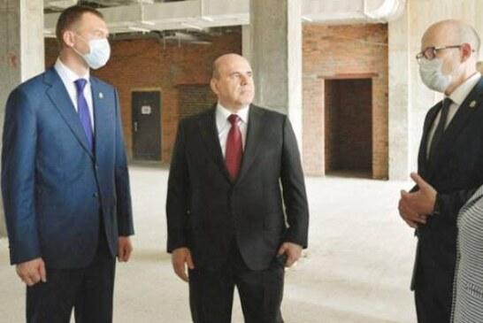 Мишустина разочаровал ход строительства детской больницы на Дальнем Востоке