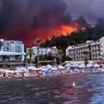 Горящие путевки: туристы рассказали о выживании в охваченной пожарами Турции