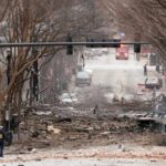 После мощного взрыва в американском Нэшвилле обнаружены человеческие фрагменты