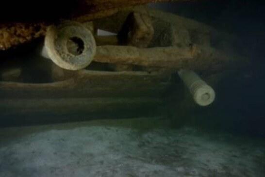 Археологи нашли в Балтике военный корабль, полный серебра и тел солдат