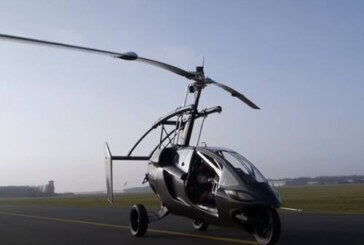Летающий автомобиль в Нидерландах получил право ездить по дорогам