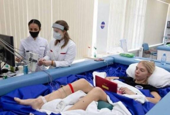 Неожиданные результаты эксперимента в Москве: невесомость «пощадила» спину женщин
