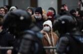 На несогласованной акции в Москве задержали более тысячи человек