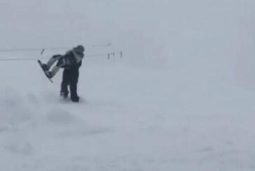 Под лавиной на глазах сына погиб президент горнолыжной федерации «Домбай»