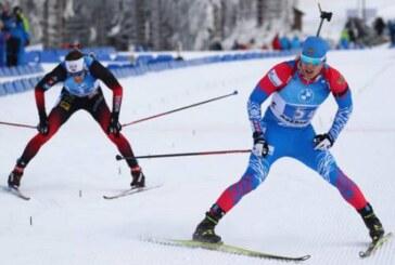 Сборная России по биатлону завоевала золото в смешанной эстафете