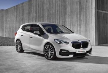 BMW 2 Series Active Tourer следующего поколения: новые изображения