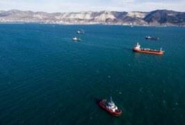 В Турции спасли пятерых моряков с затонувшего сухогруза