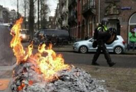 Число задержанных в ходе беспорядков в Нидерландах превысило 150 человек